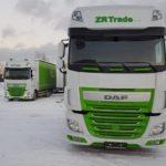 ZR Trade - auto, kamion, autodoprava , zr trade DAF kamiony maska zr trade