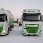 ZR Trade - auto, kamion, autodoprava , zr trade DAF kamiony pohled zepředu zr trade