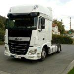 ZR Trade - Tahač DAF, černý auto, kamion, autodoprava , zr trade