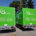 ZR Trade dodávky, kontakt na plachtě auto, kamion, autodoprava , zr trade