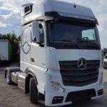 ZR Trade mercedes tahač bílý auto, kamion, autodoprava , zr trade